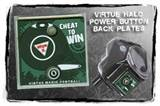 Cheater HALO Power Button Back Plate REA